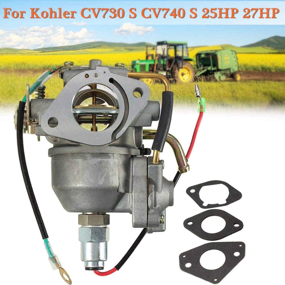 Carburetor For Kohler CV730 S CV740 S 25HP 27 HP Engine 24853102-S Tractor New