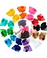 """Cellot Boutique Girls Big Hair Bows Clips 