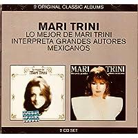 Lo Mejor de Mari Trini Interpreta Grandes Autores Mexicanbos 2 CD's SET