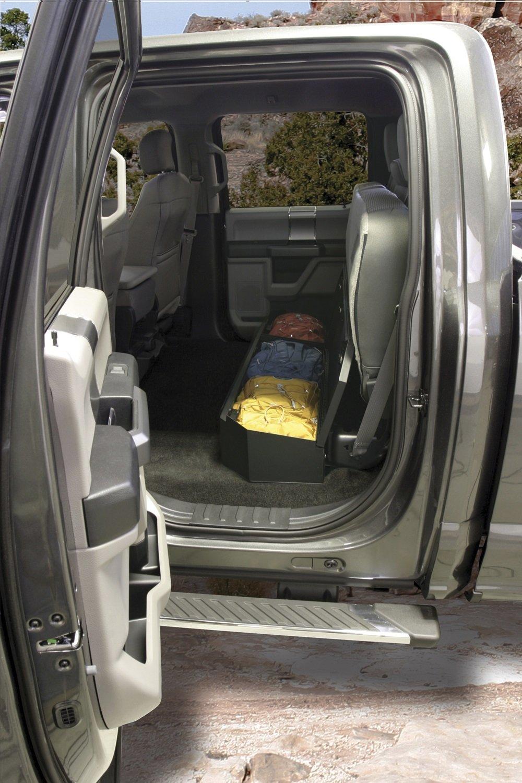 Admirable Tuffy 316 01 Full Width Under Rear Seat Lockbox For Ford F150 Crew Cab 2015 Creativecarmelina Interior Chair Design Creativecarmelinacom