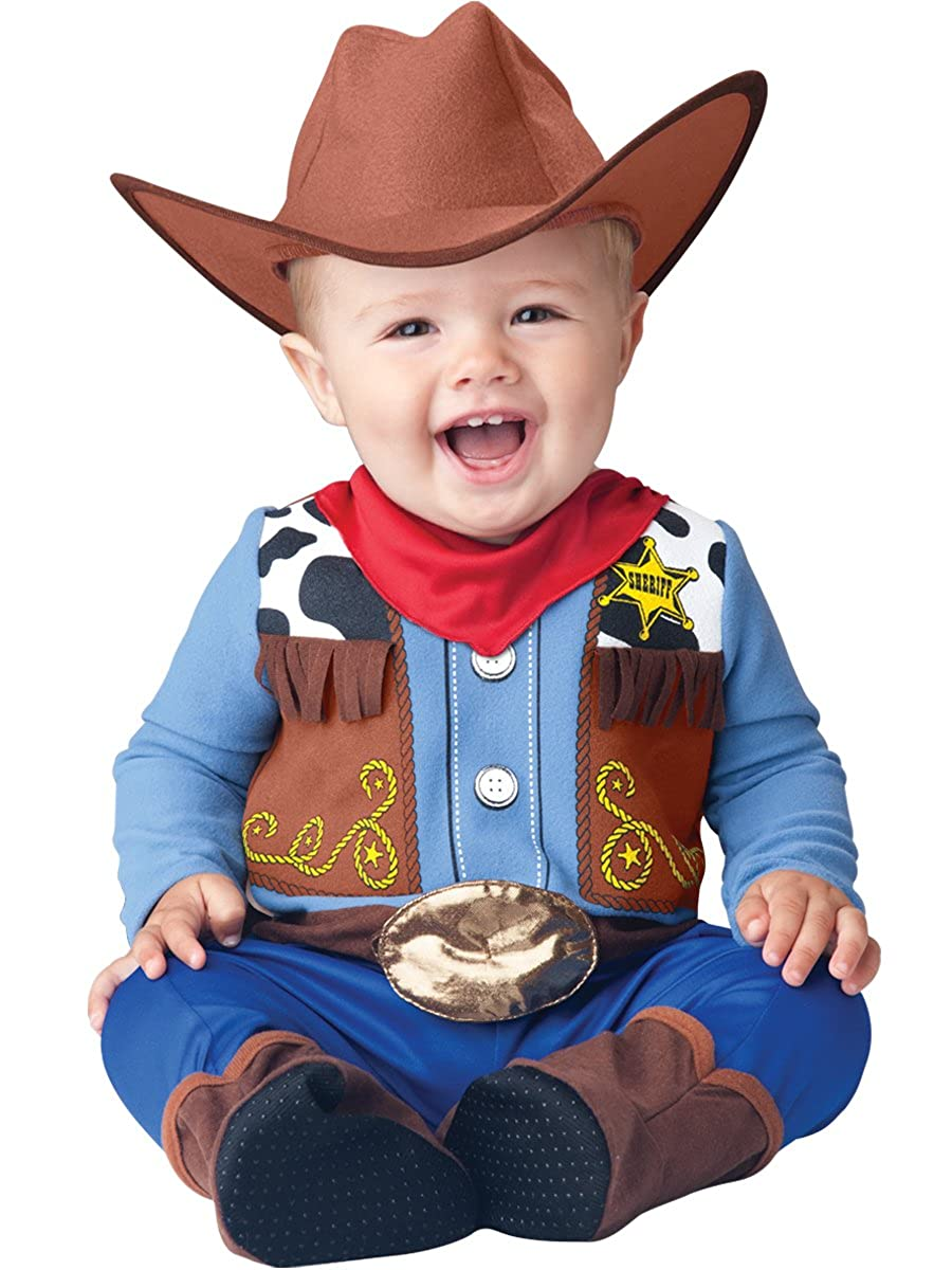 Amazon.com  InCharacter Baby Boy s Wee Wrangler Cowboy Costume  Clothing 8a1b5185ff2