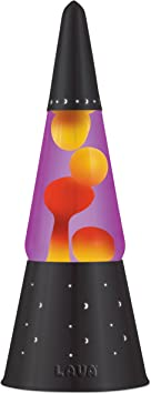 Lava Lite 6000 Heritage Collection 16 3 Inch Wizard Lava Lamp With Black Base Yellow Wax Purple Liquid Lighting Ceiling Fans Amazon Canada