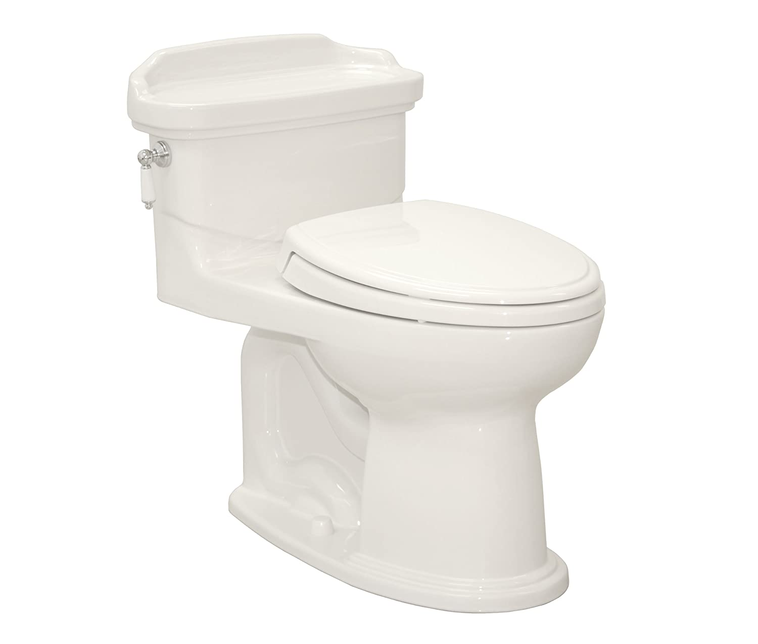 TOTO MS924154F-12 Willingham One Piece Toilet with SoftClose Seat ...