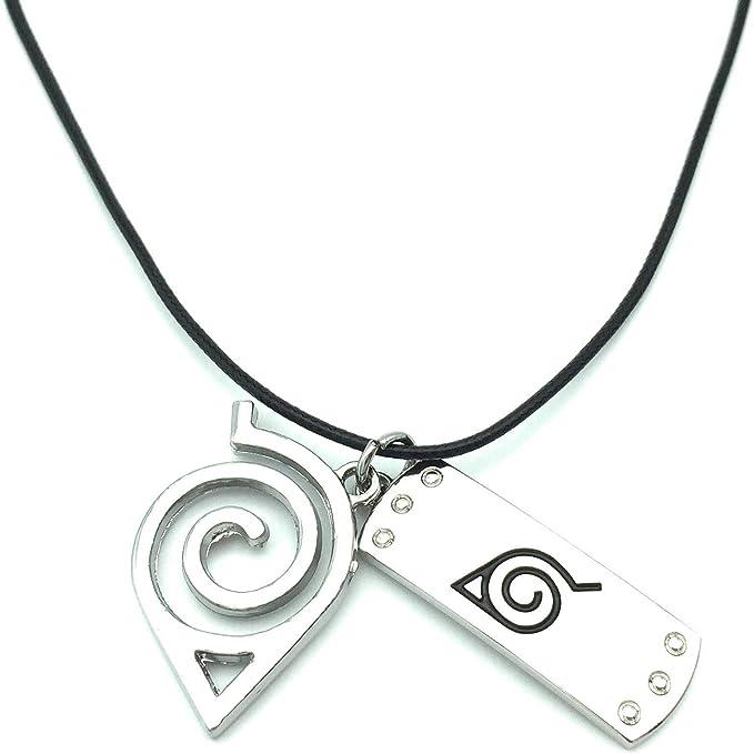 Amazon.com: HappyShip Naruto Collar Naruto Leaf Collar ...