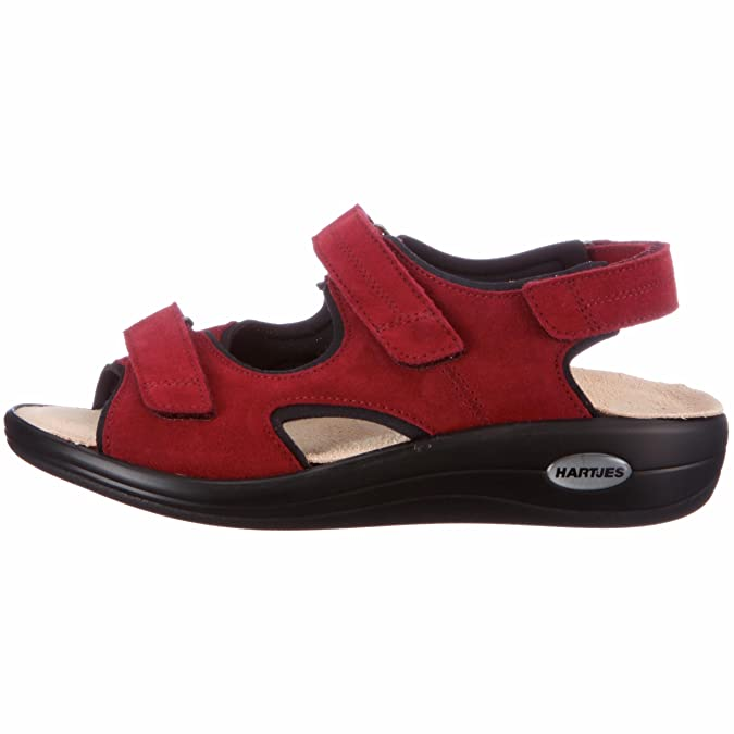 HARTJES 50532 Outdoor Sandals Womens Red Rot flame Size  4.5 (37 EU)   Amazon.co.uk  Shoes   Bags 17ddc0fe41