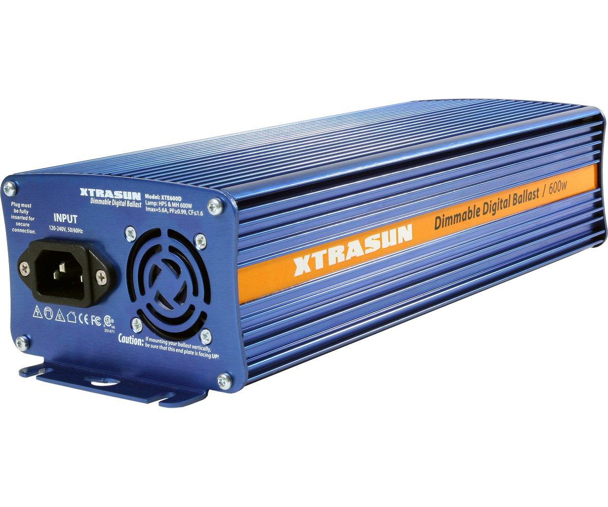 Dimmable Digital Ballas Hydrofarm XTE600D Xtrasun 600W Ballast