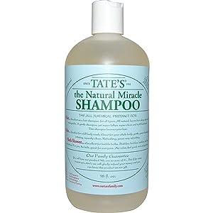 Tate's The Natural Miracle Shampoo, 18 fl. oz.
