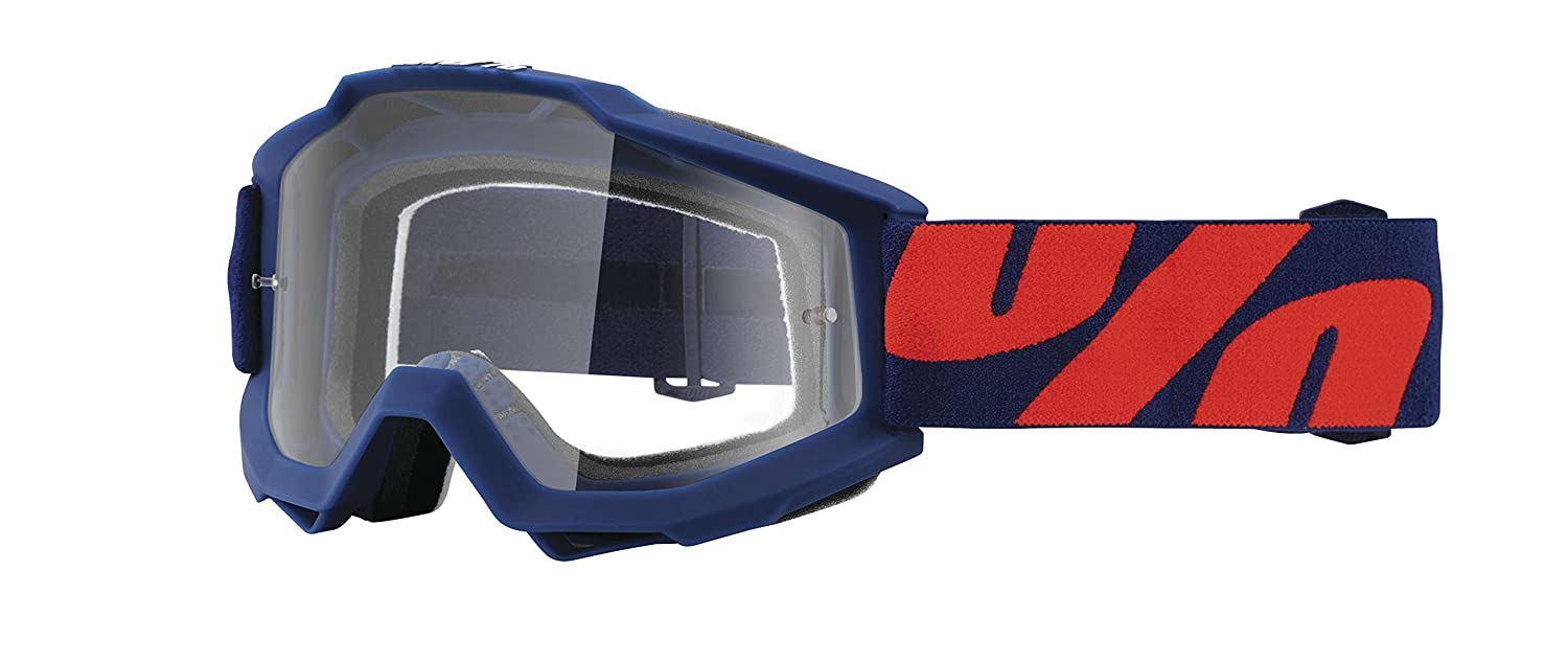 100% Accuri Raleigh Men's Off-Road/Dirt Bike Motorcycle Goggles Eyewear - Clear / One Size 2015 Accuri