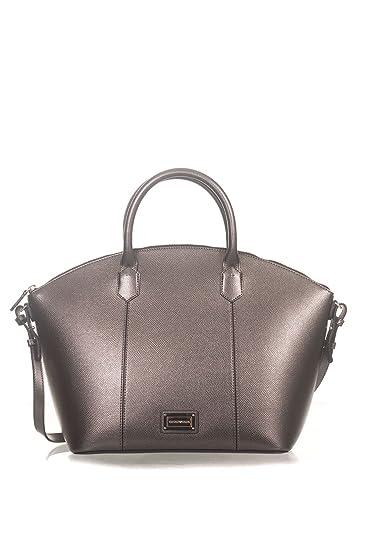 Emporio Armani Women s Shoulder Bag Grey Size  One Size  Amazon.co ... cecdc99def93f