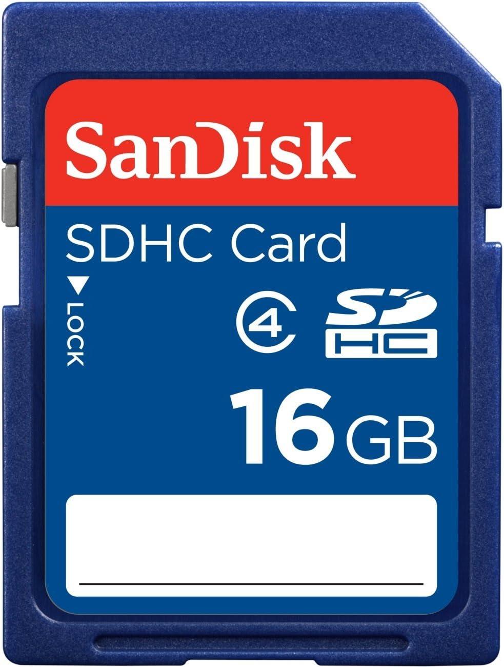 SanDisk SDSDB-016G-B35 16GB SDHC CARD 3X5 INCHES NON-RETAIL PACKAGING