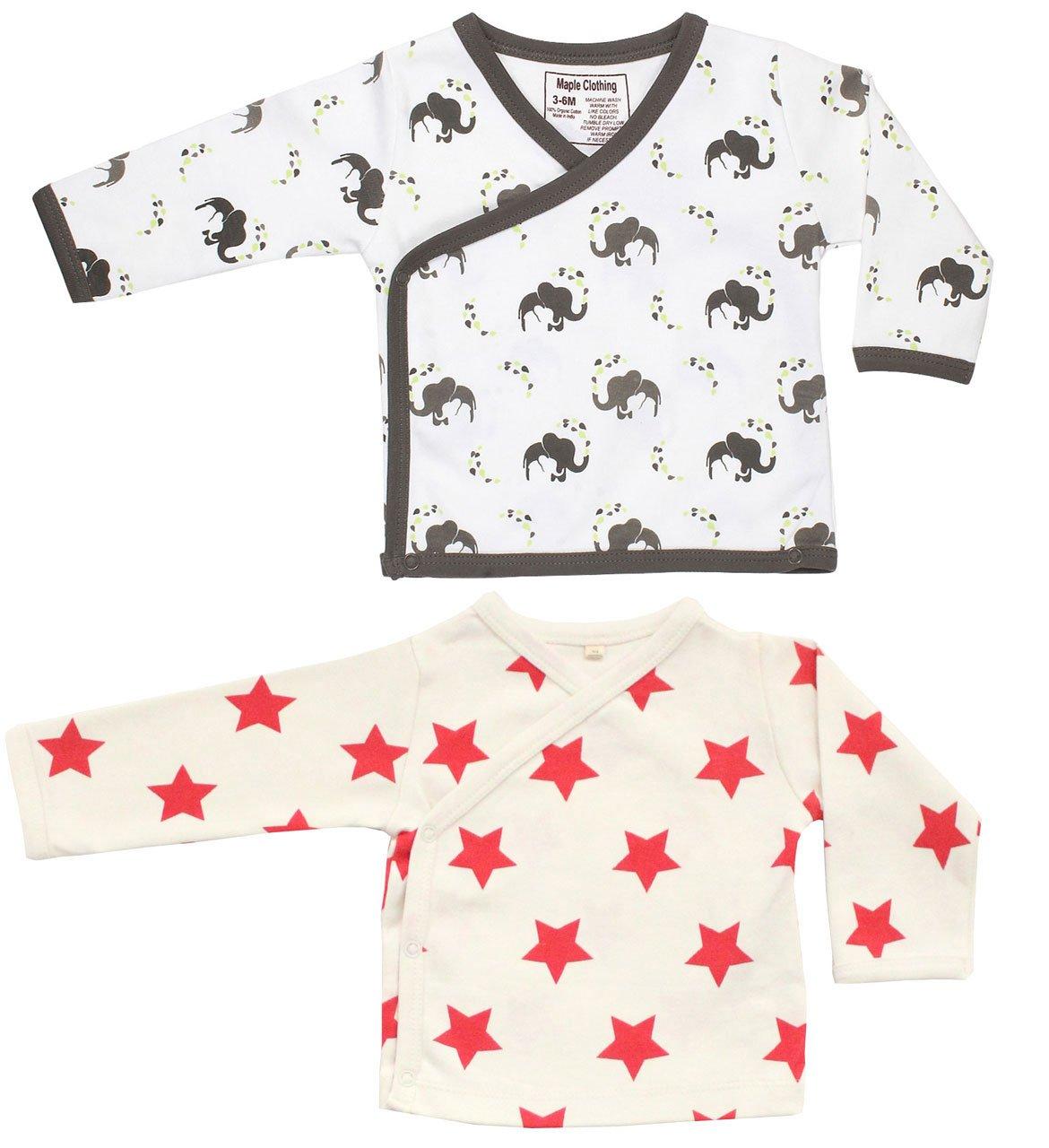 Maple Clothing Organic Cotton Baby Kimono GOTS