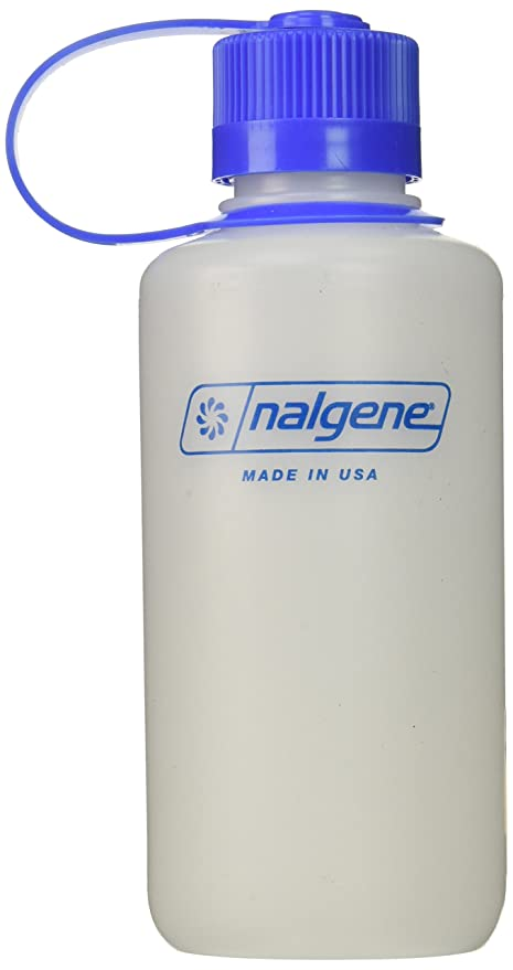 1cc47f1458 Amazon.com : Nalgene HDPE 16oz Narrow Mouth BPA-Free Water Bottle ...