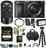 Sony Alpha a6000 24.3 Megapixel Mirrorless Interchangeable Lens Digital Camer...
