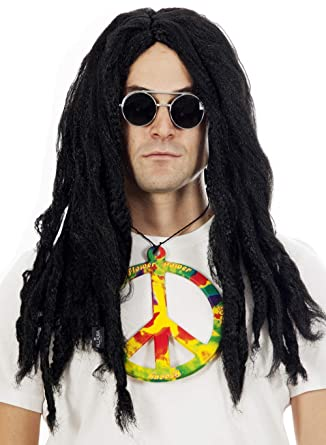 Amazon.com: Allaura Rasta Dreadlocks peluca disfraz pelucas ...