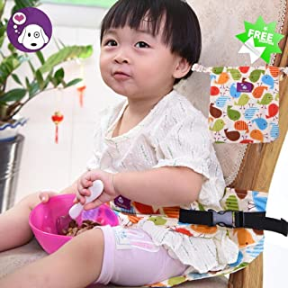 Image: Toddler Dining High Chair | Harness Booster Travel | Portable Safety Seat Belt Strap | cute portable dining chair harness | providing a safe seat for baby | a must have for any parent