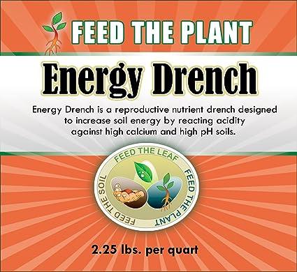 Energía Drench – el único líquido peces con disuelto Epsom sal a suministro magnesio. Uso