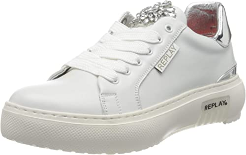 Replay Damen Annabel Deepwater Sneaker: : Schuhe