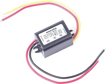 2X DC//DC Converter 12V to 6V Step Down Power Supply Module Waterproof Regulator