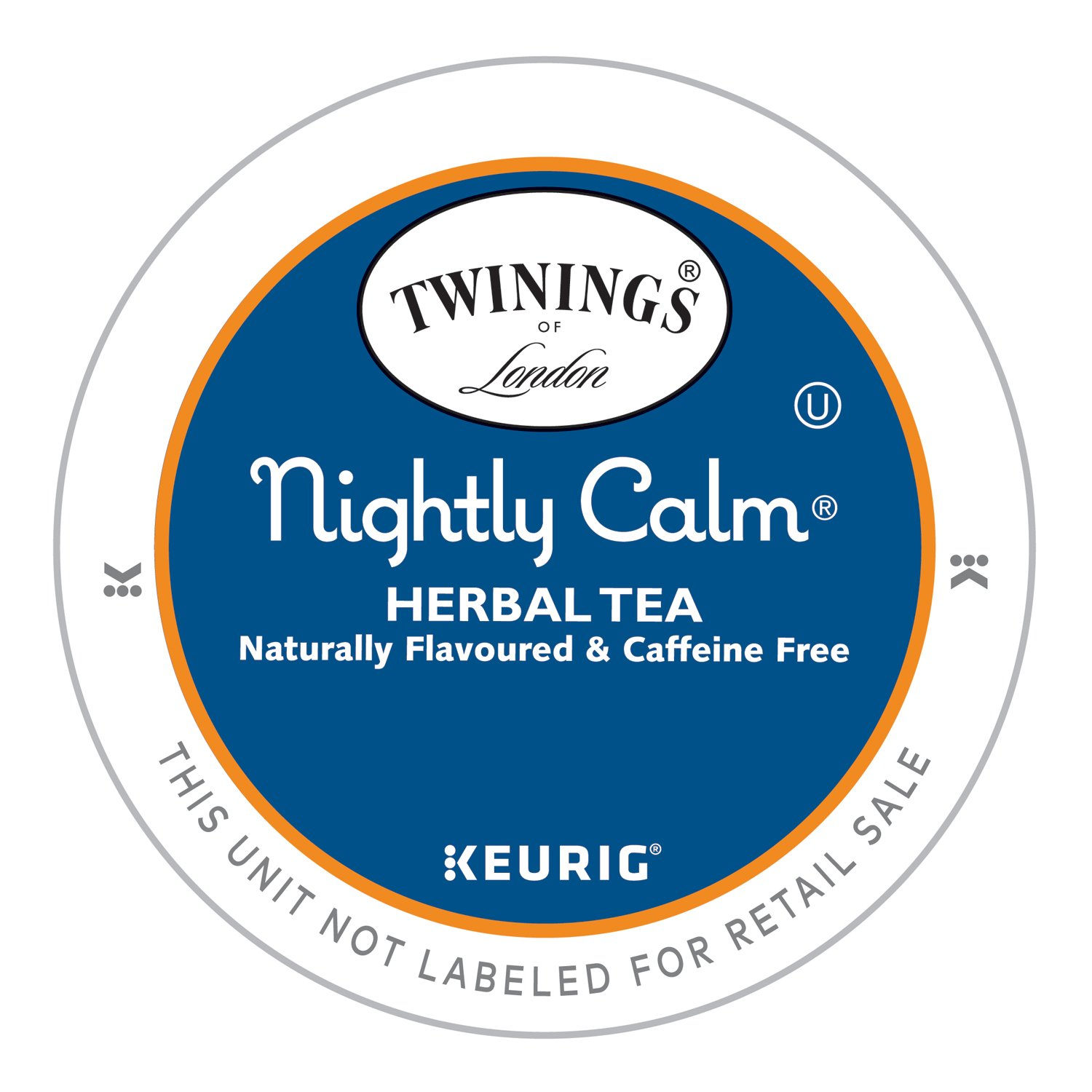 Twinings of London Nightly Calm Herbal Tea K-Cups for Keurig, 12 Count