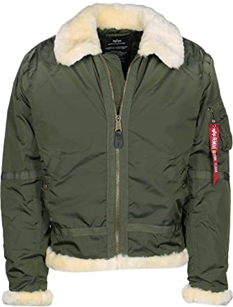 brand new 16e8c 1a964 dark Green Alpha Industries Jacke B3 TtGröße mFarbe hQCxBtrds