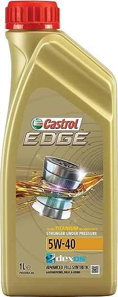 Castrol Edge 5w 40 Engine Oil 1l Auto