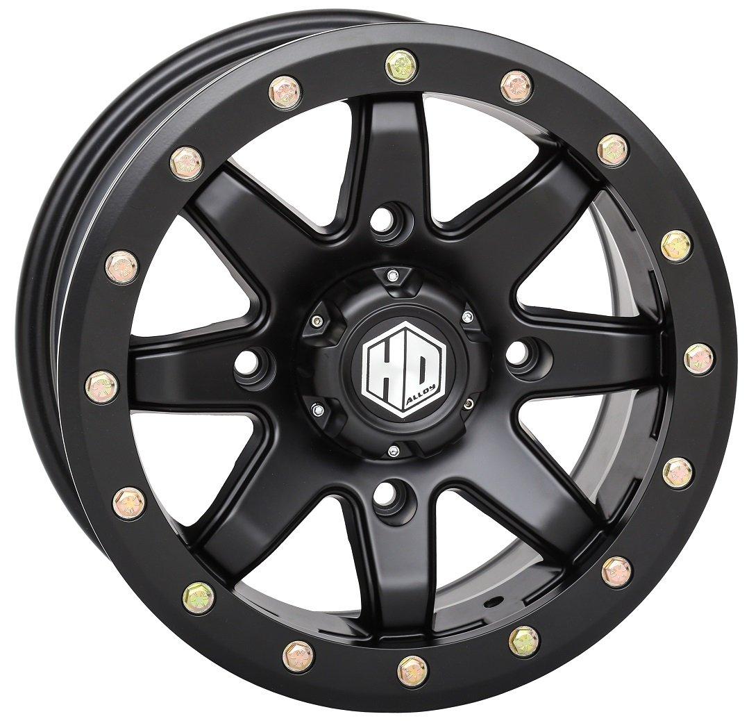 STI 17-18 CAN-AM MAVX3XRS HD9 Comp Lock Front Wheel (14X7 / 4X137 5+2) (Matte Black) by STI