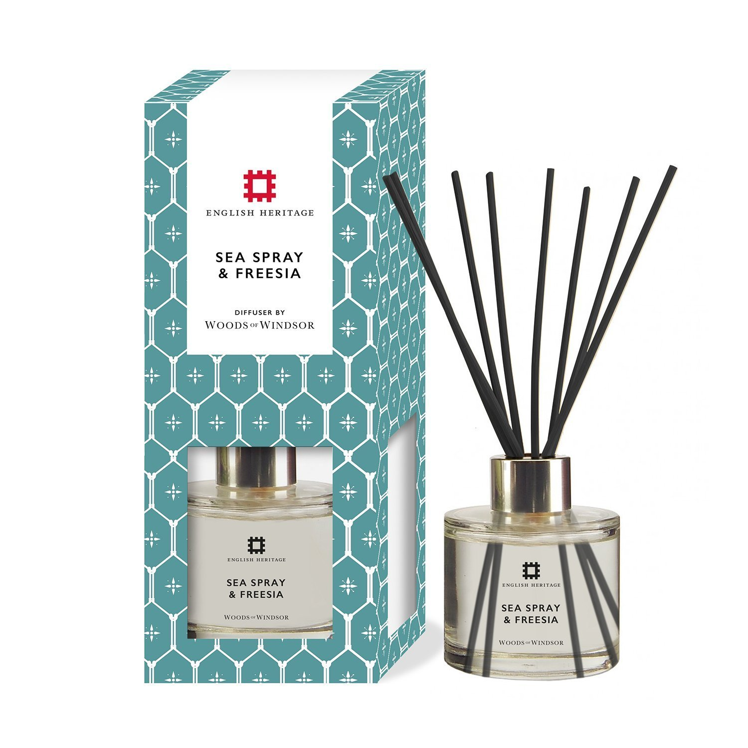 Woods of Windsor English Heritage Sea Spray and Freesia Diffuser W300003-6