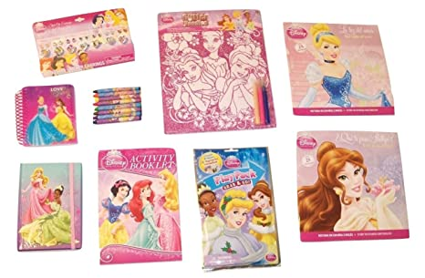 Disney Princess Activity Gift Set ~ Love to Sparkle (Glitter Doodle, Activity Pad,