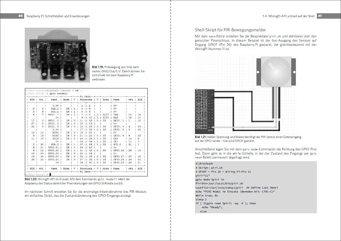 Sensoren Am Raspberry Pi Der Erfasst Alles Analog Wiringpi Mcp3008 C Oder Digital Temperatur Abstand Infrarotlicht Bilder Bewegung Stromstarke Gas