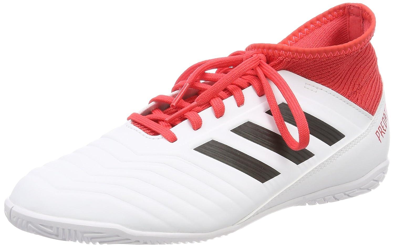Adidas Predator Tango 18.3 In, Zapatillas de Fútbol Unisex Niños 38 EU|Blanco (Ftwbla / Negbas / Correa 000)
