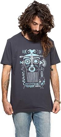 Aztec Lamáscara Exclusivo Arte Camiseta gráfico Estampada - Ropa Urbana para Hombre: Amazon.es: Ropa y accesorios