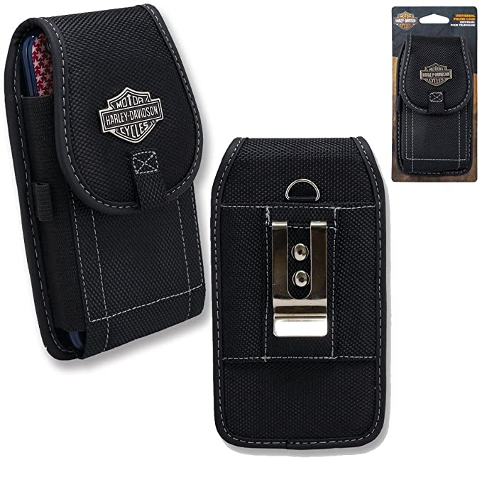 new style 96829 441db Harley Davidson Belt Loop and Metal Clip Riding Case fits iPhone 7 with any  cover on it.