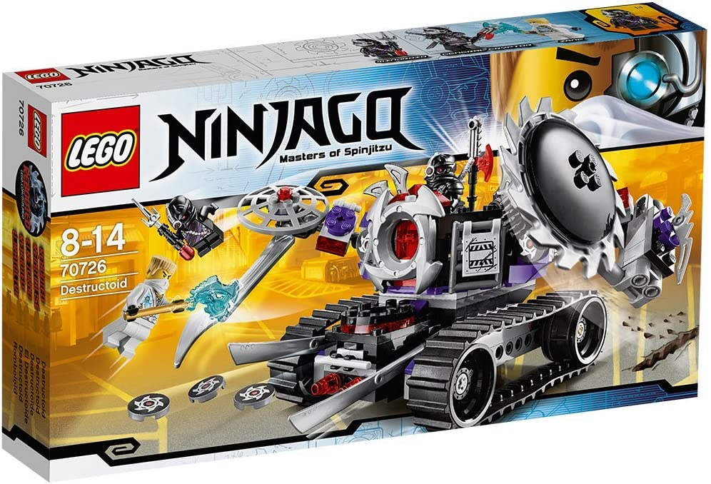 LEGO Ninjago Rebooted Set #70726 Destructoid