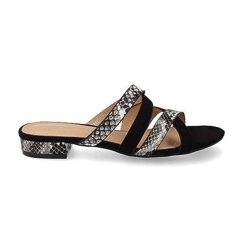 Sandalia Cruzadas De Serpiente Tiras Mujer En Tacon Elegantes Con luK3JF1cT5
