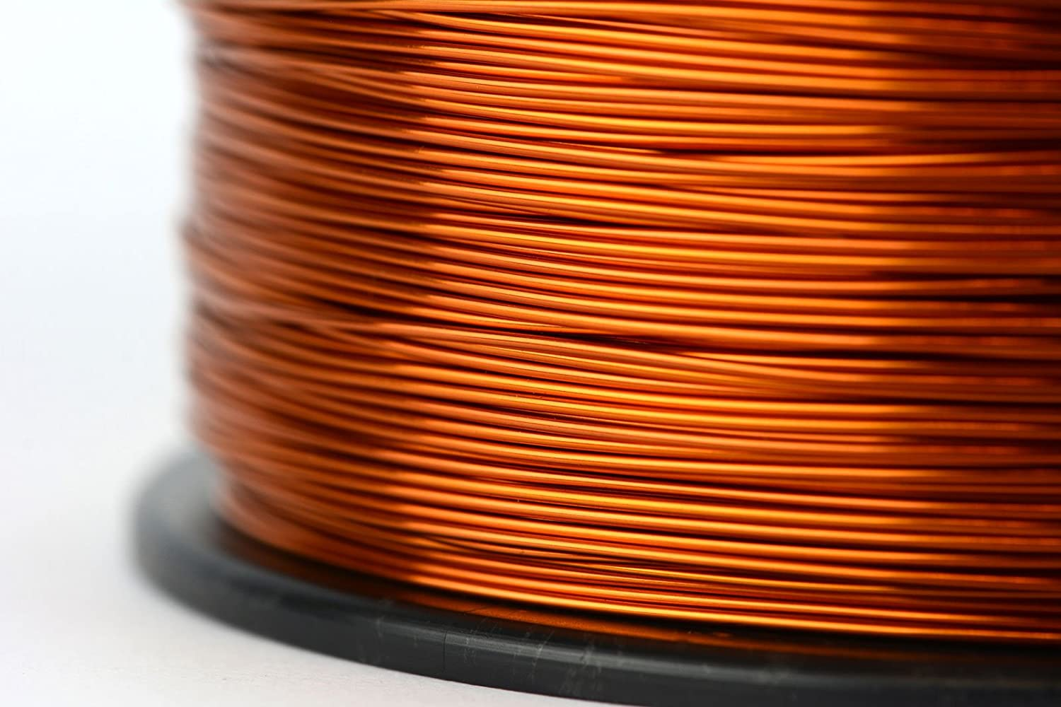 Amazon.com: TEMCo 8 AWG Copper Magnet Wire - 1 lb 20 ft 200°C ...