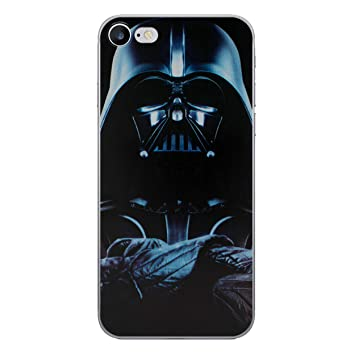 the best attitude 56b60 2b8b4 iPhone 7 Star Wars Silicone Case / Gel Cover for Apple iPhone 7 / Screen  Protector & Cloth / iCHOOSE / Darth Vader