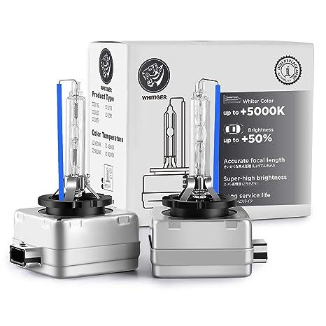 D3S HID Xenon Lampadina Auto Lampada di Ricambio 12V 35W 8000K Confezione da 2