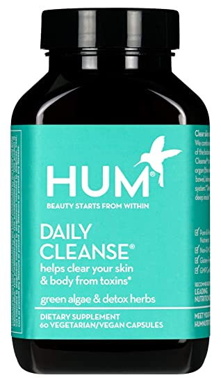 Amazon.com : HUM Daily Cleanse Skin Supplement - Skin and Body ...