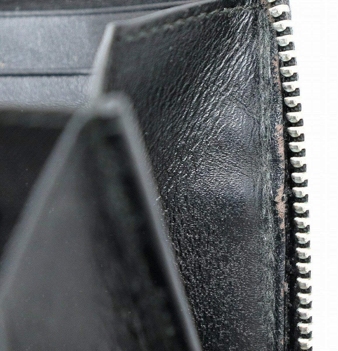530b2fffd4fb Amazon | [ブルガリ] BVLGARI ウィークエンド ラウンドファスナー 長財布 PVC レザー 黒 ブラック ダークグレー 32587 |  BVLGARI(ブルガリ) | 財布