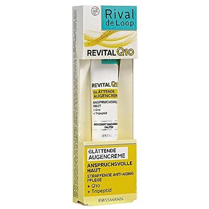 Rival de Loop revital Q10 glätt Extremo Ojo Crema 15 ml Piel para exigentes, straffende