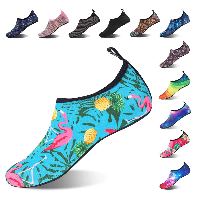 Mabove Chaussures Aquatique pour Femme et Homme Chaussures d'eau Chaussures de Plage...