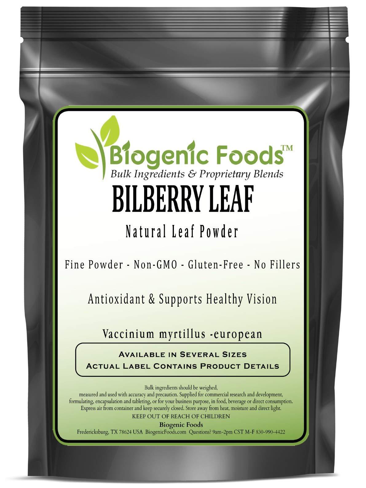 Bilberry Leaf - Natural Leaf Powder (Vaccinium myrtillus -European), 25 kg