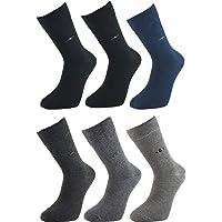 Ludo Vico Günlük Dört Mevsim Pamuklu 6 Çift Erkek Çorap