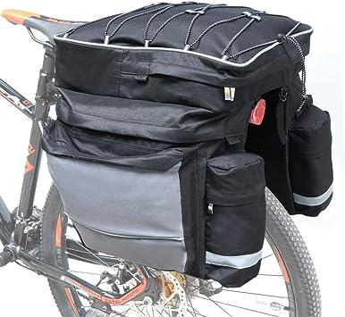 COFIT 68L Bicicleta Pannier, Bolso Impermeable para Maletero de ...