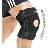 BERTER Knee Brace Open Patella Stabilizer Neoprene Knee Support for Men Women Running Basketball Meniscus Tear Arthritis Join
