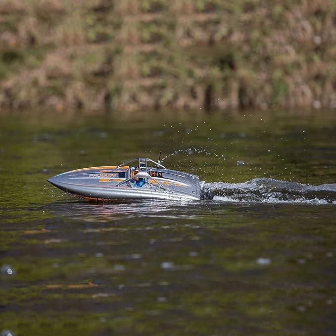 Amazon.com: PRB 23 River Jet Boat: RTR: Toys & Games