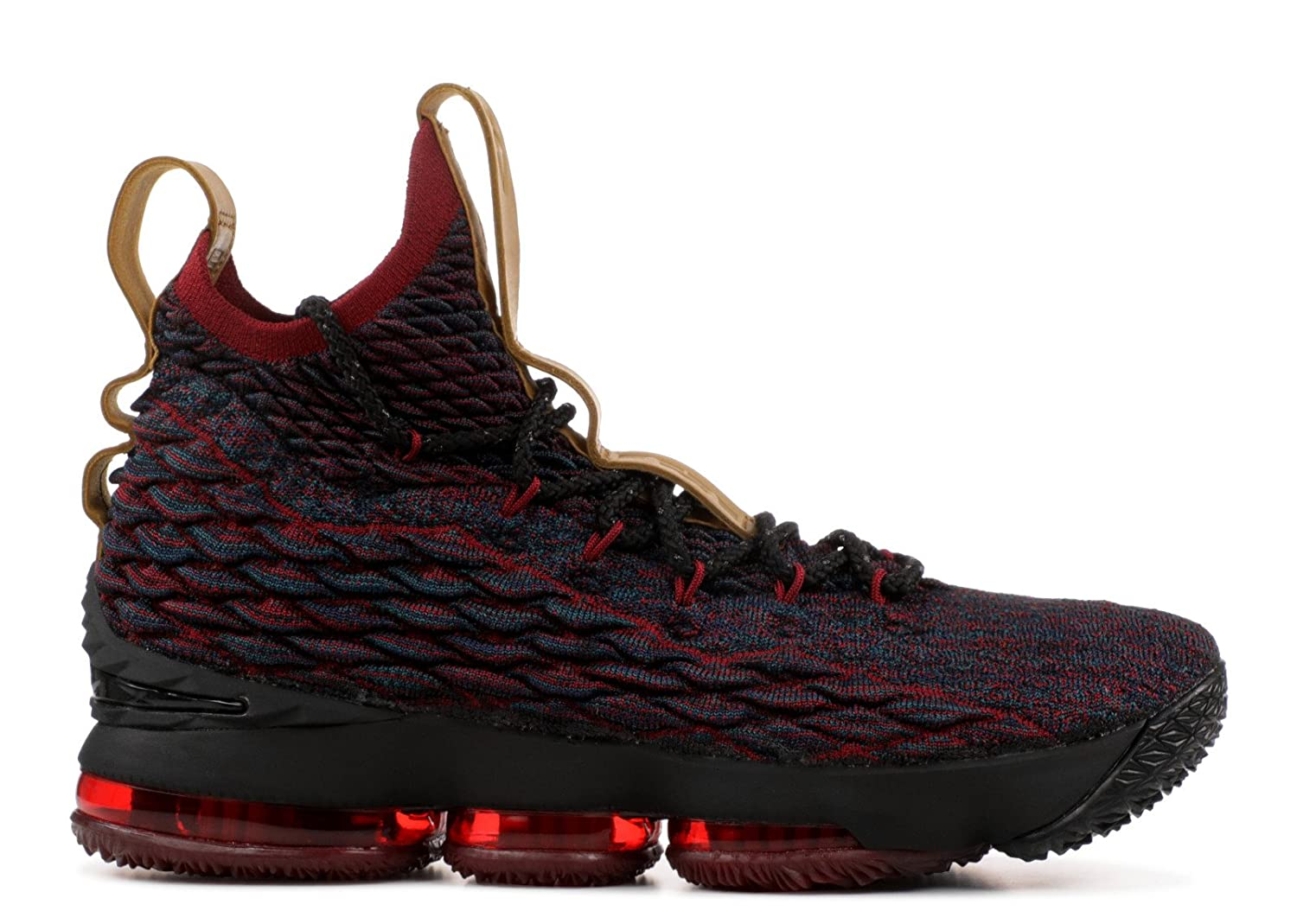 quality design 9cc11 7635d BSTBLL Lebron 15 DK Atomic Teal Black Team Red Mens Basketball Shoes   Amazon.co.uk  Shoes   Bags