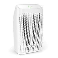 GBlife Déshumidificateur d'air, Bruit Faible 30dB, Arrêt Automatique,Elimination de l'Odeur/Humidité pour Maison Cuisine Chambre Bureau