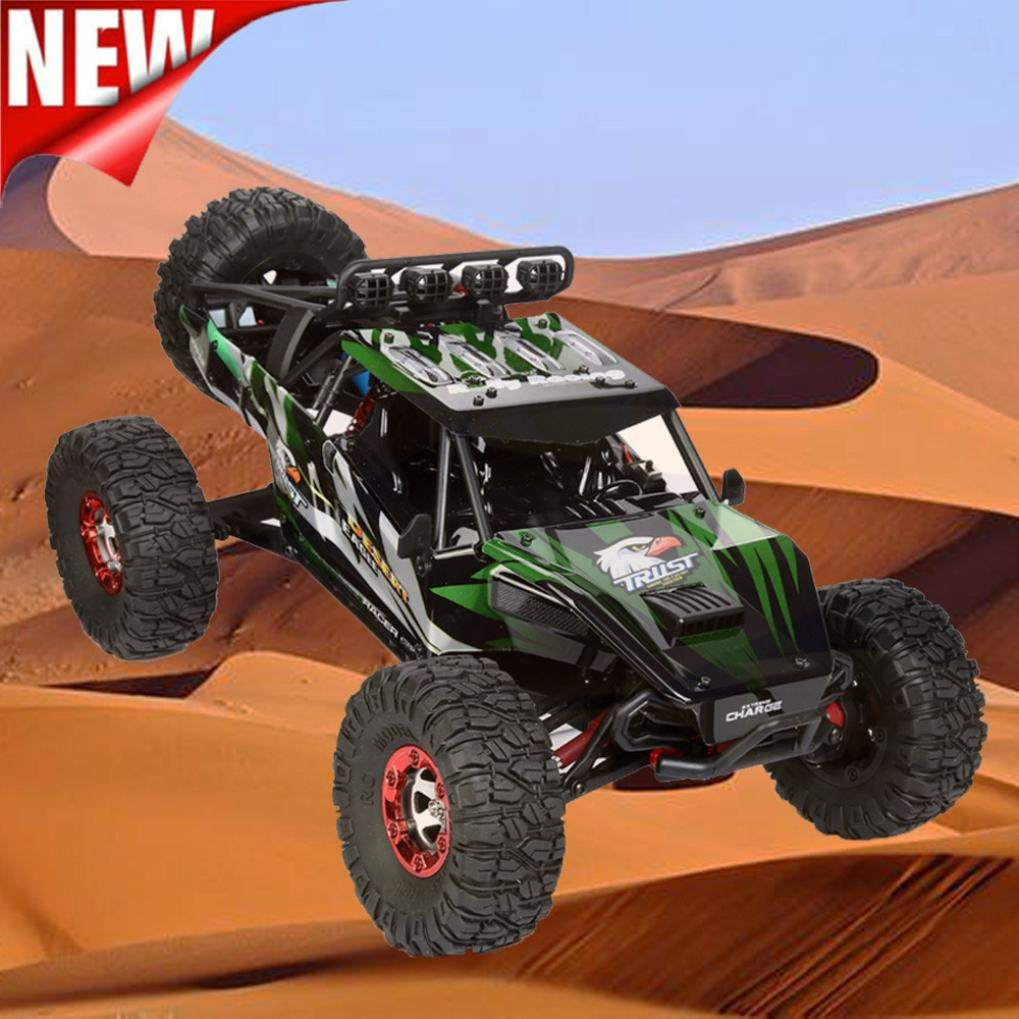 Excellent 1:12 High Speed Brushless motor High Capacity Battery RC Desert Off-Road Racing Truck Car Dreamyth (Green) by Dreamyth