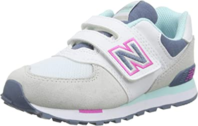 New Balance 574 Yv574nlh Medium, Zapatillas para Niñas: Amazon.es: Zapatos y complementos